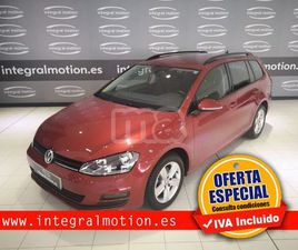 VOLKSWAGEN - GOLF VARIANT ADVANCE 1.6 TDI 105CV BMT
