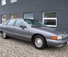 1992 CHEVROLET CAPRICE 5,7 V8 AUT · 4 DØRS 220.000 KM KR 79.900