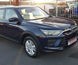 NEW SSANGYONG KORANDO FOR SALE IN DUBLIN FOR €24,999 ON DONEDEAL