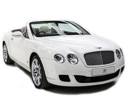 2011 BENTLEY CONTINENTAL GTC 6.0 W12 2DR AUTO