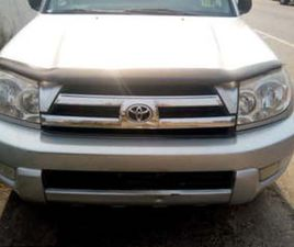 TOYOTA 4RUNNER AVAILABLE