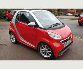 £4,245 SMART FORTWO 1.0 MHD PASSION CABRIOLET SOFTOUCH 2DR