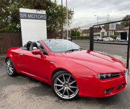 ALFA ROMEO SPIDER 2.2 JTS LIMITED EDITION 2DRROSSO RED! FSH! 19 ALLOYS!