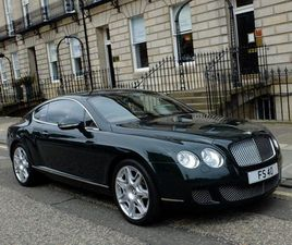 BENTLEY CONTINENTAL 6.0 GT 2DRSUPERB HISTORY - 26K MILES !