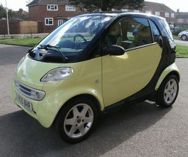 £1,995 | SMART FORTWO 0.6 CITY PULSE 3DR