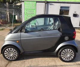 SMART FORTWO 0.7 CITY PURE CABRIOLET 2DRP/X WELCOME