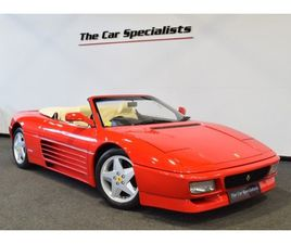 1994 FERRARI 348 SPIDER 1/68 RIGHT HAND DRIVE LOW MILEAGE IMPECCABLE SERVICE HISTORY SIMPL