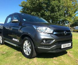 2019 SSANGYONG MUSSO DOUBLE CAB PICK UP REBEL 4DR AWD