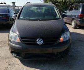 VW GOLF PLUS 1.9TDI