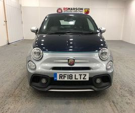 2018 ABARTH 695 1.4 T-JET 180 RIVALE 2DR