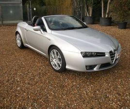 ALFA ROMEO SPIDER 2.2 JTS 2DREXCELLENT VEHICLE THROUGHOUT.