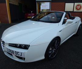ALFA ROMEO SPIDER 2.2 JTS LIMITED EDITION 2DR CONVERTIBLE, 08/2008