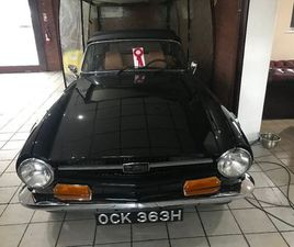 TRIUMPH TR6 2.5 2DRCONCOURS AS NEW