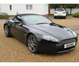 ASTON MARTIN V8 VANTAGE ROADSTER SPORTSHIFT     VIEWING BY APPOINTMENT ONLY