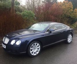 BENTLEY CONTINENTAL 6.0 GT 2DR1 OWNER FROM NEW FBSH