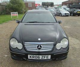 MERCEDES  C220 2.1 CDI SPORT EDITION COUPE AUTOMATIC  2006 (06) DIESEL, 124,602 MILES, SER