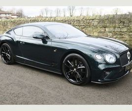 BENTLEY CONTINENTAL 6.0 W12 GT AUTO 4WD 2DRNUMBER 9 EDITION (1 OF 100)