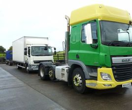 2014 DAF CF 440 S/CAB 6X2 UNIT 520000KMS NEW TEST FOR SALE IN TYRONE FOR £14,750 ON DONEDE