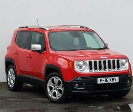 2016 JEEP RENEGADE 1.4 MULTIAIR LIMITED 5DR