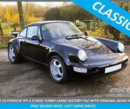 3.3 (964) TURBO LARGE HISTORY FILE WITH ORIGINAL BOOK PACK