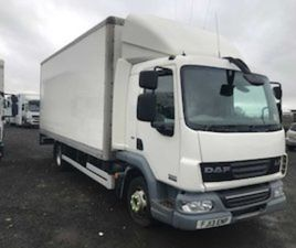 DAF LF BOX VAN FOR SALE IN ANTRIM FOR £6500 ON DONEDEAL
