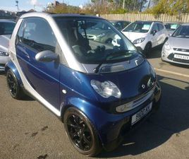 SMART FORTWO 0.7 CITY SPRING CABRIOLET 2DR68000 MILES:: CONVERTIBLE