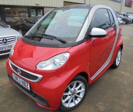 2014 SMART FORTWO 1.0 PASSION MHD 2D 71 BHP