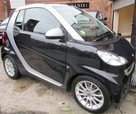 SMART FORTWO 0.8 CDI PASSION CABRIOLET 2DRSTUNNING EXAMPLE FULL HISTORY!