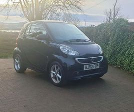 SMART FORTWO 0.8 CDI PULSE SOFTOUCH 2DRZERO ROAD TAX