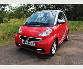 SMART FORTWO 1.0 MHD PULSE SOFTOUCH 2DR1/2 LEATHER, AIRCON, ZERO TAX