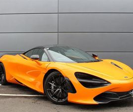 2018 MCLAREN 720S COUPE S COUPE