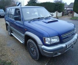 ISUZU TROOPER 3.0 TD CITATION 4X4 5DR (7 SEAT)JUST ARRIVED
