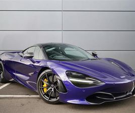 2019 MCLAREN 720S COUPE S COUPE