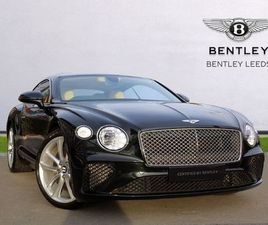 2018 BENTLEY CONTINENTAL GT 6.0 W12 2DR AUTO