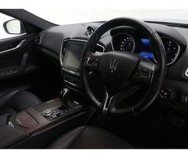 2018 MASERATI GHIBLI V6D 4DR AUTO [LUXURY PACK]