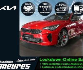 KIA STINGER GT 4WD 3.3 V6 T-GDI LED HIFI LEDER PDC -