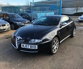 ALFA ROMEO GT 1.8 T.SPARK BLACKLINE COUPE 2DR PETROL MANUAL (202 G/KM, 140 BHP)LOVELY LOOK