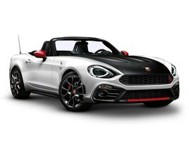 2017 ABARTH 124 SPIDER 1.4 T MULTIAIR SCORPIONE 2DR SPORTS