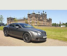 BENTLEY CONTINENTAL 6.0 W12 GT SPEED 2DRFULL BENTLEY SERVICE HISTORY
