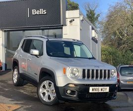 2016 JEEP RENEGADE 2.0 MULTIJET LIMITED 5DR 4WD AUTO