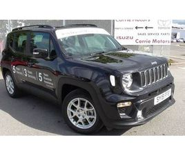 2019 JEEP RENEGADE 1.0 T3 GSE LONGITUDE 5DR
