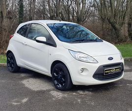 2016 FORD KA ZETEC WHITE EDITION