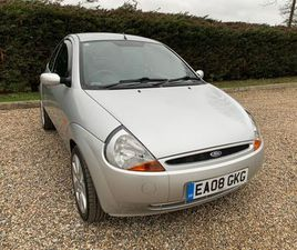 FORD KA 1.3 ZETEC CLIMATE 3DRFSH IMMACULATE WITH LOW MILES