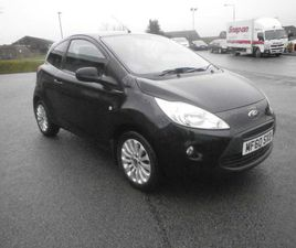 FORD KA 1.2 ZETEC 3DR£30 TO TAX COMES WITH 12M MOT