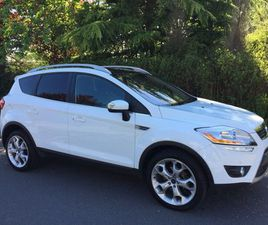 FORD KUGA 2.5 T TITANIUM X 5DRPAN ROOF, LEATHER,ROOF BARS