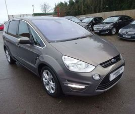 FORD S-MAX 2.0 TDCI TITANIUM POWERSHIFT 5DRONLY 1 FORMER KEEPER,FULL S/H