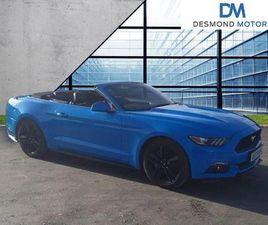 2018 FORD MUSTANG 2.3 ECOBOOST 2DR AUTO