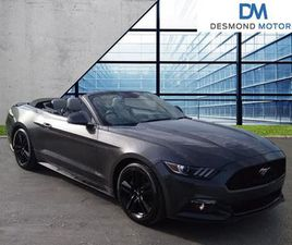 2018 FORD MUSTANG 2.3 ECOBOOST 2DR