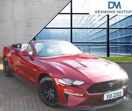 2019 FORD MUSTANG 5.0 V8 GT 2DR AUTO