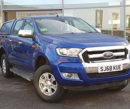 2018 FORD RANGER PICK UP DOUBLE CAB XLT 2.2 TDCI